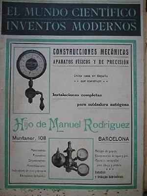 EL MUNDO CIENTÍFICO. INVENTOS MODERNOS N 5: G.DE NADAL MªFernanda (Directora)
