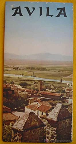 FOLLETO TURÍSTICO : AVILA (Tourist brochure)