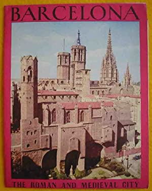 FOLLETO TURÍSTICO : BARCELONA, the roman and medieval city (Tourist brochure)