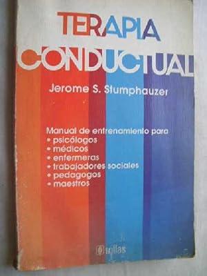 TERAPIA CONDUCTUAL: STUMPHAUZER, Jerome S.