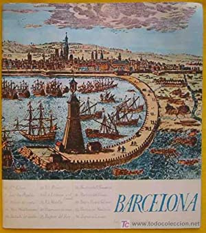 FOLLETO TURÍSTICO : BARCELONA (Tourist brochure)