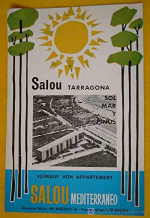FOLLETO TURÍSTICO : SALOU - TARRAGONA (Tourist brochure).