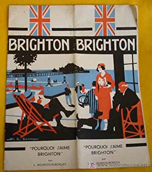 FOLLETO TURÍSTICO: BRIGHTON - REINO UNIDO (Tourist brochure)