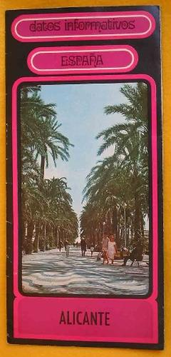 FOLLETO TURÍSTICO: ALICANTE (Tourist brochure)
