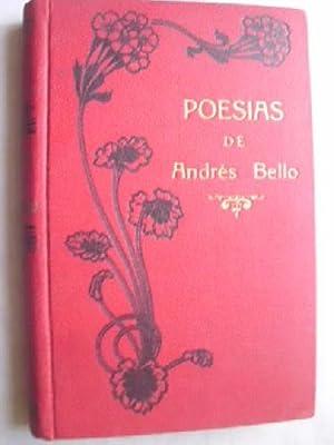 POESÍAS. Precedido de un estudio biográfico y crítico de Miguel Antonio Caro.:...