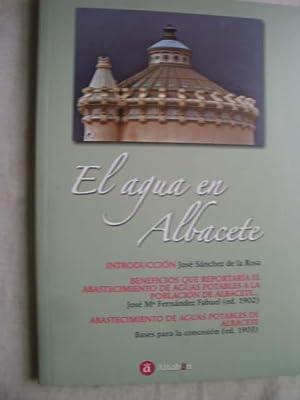 EL AGUA EN ALBACETE: SANCHEZ DE LA