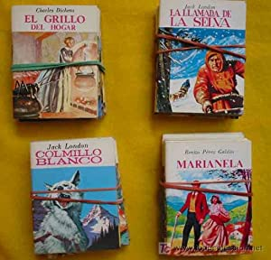 MINIBIBLIOTECA DE LA LITERATURA UNIVERSAL (Petete) 36 títulos. Colección Completa: ...