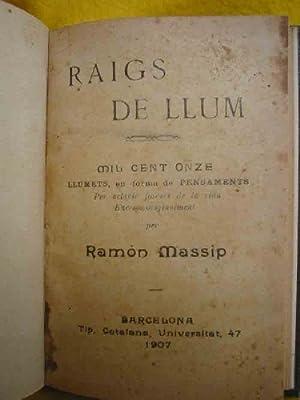 RAIGS DE LLUM: MASSIP Ramón