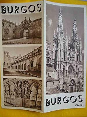 FOLLETO TURÍSTICO : BURGOS (Tourist brochure)