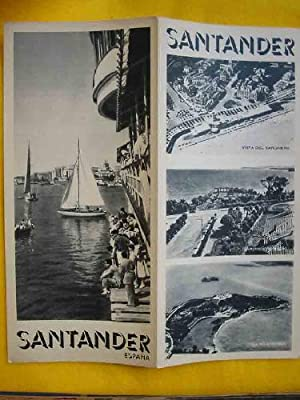 FOLLETO TURÍSTICO : SANTANDER (Tourist brochure)
