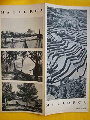 FOLLETO TURÍSTICO : MALLORCA (Tourist brochure)