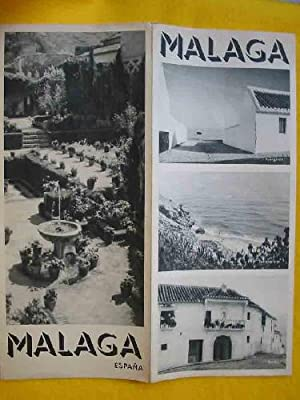 FOLLETO TURÍSTICO : MALAGA (Tourist brochure)