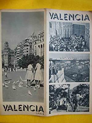 FOLLETO TURÍSTICO : VALENCIA (Tourist brochure)