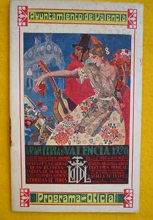 FERIA DE JULIO DE VALENCIA. PROGRAMA OFICIAL 1928: AYUNTAMIENTO DE VALENCIA