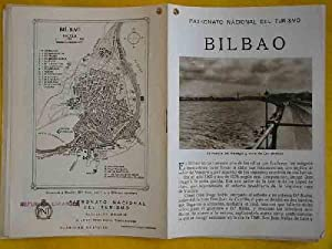 FOLLETO TURÍSTICO : BILBAO (Tourist brochure).