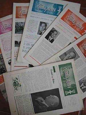 CIUDAD Y ALDEA. N 1(diciembre 1952), 2, 3, 4, 5, 6 (1953) y el n 7 Extraordinario (1955): JEFATURA ...