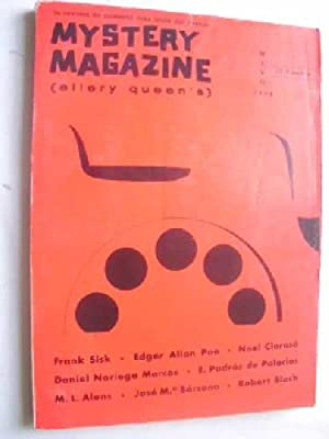 MYSTERY MAGAZINE (Ellery Queen's) Mayo 1968