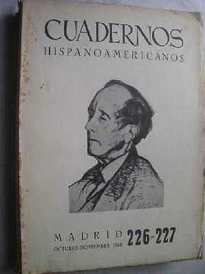 CUADERNOS HISPANOAMERICANOS Nº 226-227: AAVV