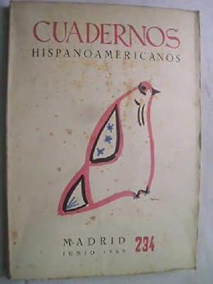 CUADERNOS HISPANOAMERICANOS 234, JUNIO 1969: AAVV