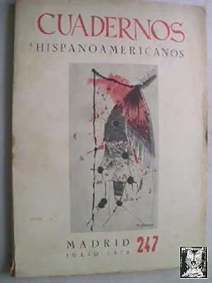 CUADERNOS HISPANOAMERICANOS 247, JULIO 1970: AAVV