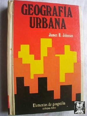 GEOGRAFÍA URBANA: JOHNSON, James H