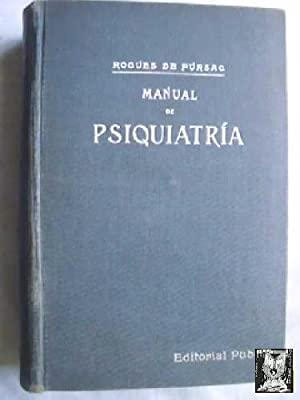 MANUAL DE PSIQUIATRÍA: ROGUES DE FURSAC, K