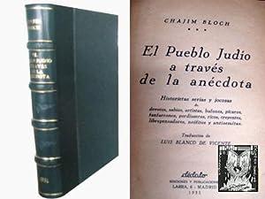 EL PUEBLO JUDÍO A TRAVÉS DE LA ANÉCDOTA: BLOCH, Chajim