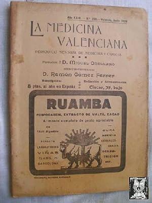 LA MEDICINA VALENCIANA. Nº 260, 1923: AAVV