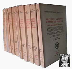 ARCHIVO GENERAL MILITAR DE SEGOVIA. ÍNDICE DE EXPEDIENTES PERSONALES (9 volúmenes): ...