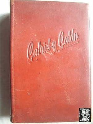 OBRAS COMPLETAS DE JOSÉ MARÍA GABRIEL Y GALÁN (dos tomos en un solo volumen): ...