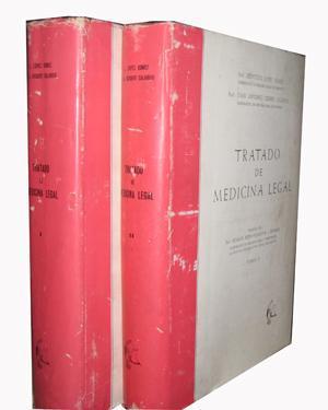 TRATADO DE MEDICINA LEGAL (2 volúmenes): LÓPEZ GÓMEZ, Leopoldo
