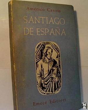SANTIAGO DE ESPAÑA: CASTRO Americo.