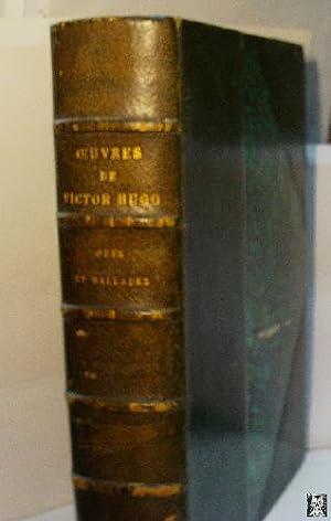 ODES ET BALLADES: HUGO Victor