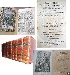BIBLIA VULGATA LATINA Traducida en español, y: PADRE PHELIPE SCIO