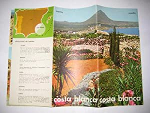 Folleto Turistico - Tourist Brochure: COSTA BLANCA. España.
