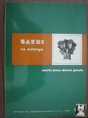 GAUDÍ EN ASTORGA: ALONSO GAVELA, María Jesús