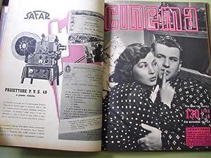 CINEMA Quindicinale di divulgazione cinematografica. 1941. Nº 116, 130, 108: MUSSOLINI ...