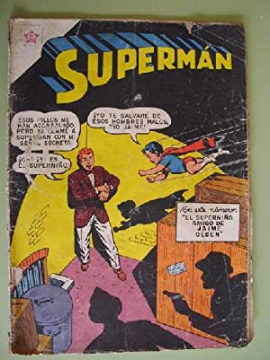 SUPERMAN. Nº 127. Marzo 1958: Sin autor