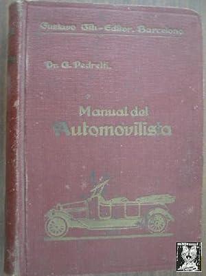 MANUAL PRÁCTICO DEL AUTOMOVILISTA: PEDRETTI, G.