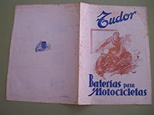Folleto publicidad - Brochure advertising : BATERIAS PARA MOTOCICLETAS TUDOR