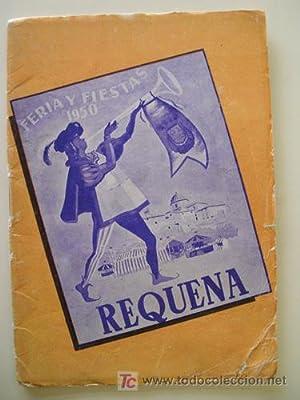 PROGRAMA OFICIAL FERIA Y FIESTAS REQUENA 1950: AYUNTAMIENTO
