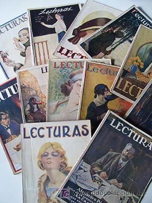 LECTURAS. 1926 AÑO COMPLETO desde el nº56 al 67 incluidos: AAVV