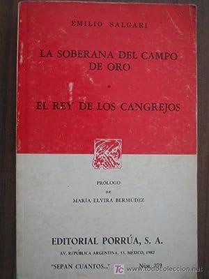 LA SOBERANA DEL CAMPO DE ORO/ EL: SALGARI, Emilio