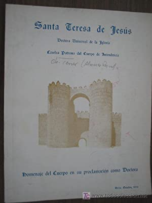 SANTA TERESA DE JESÚS: Sin autor