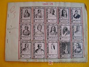 Fototipias - Phototypy : REINAS Y PRINCESAS - Serie 19 - Colección COMPLETA de 75: Sin autor