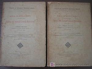 DIETARI DEL ANTICH CONSELL BARCELONÍ (2 volúmenes): Sin autor