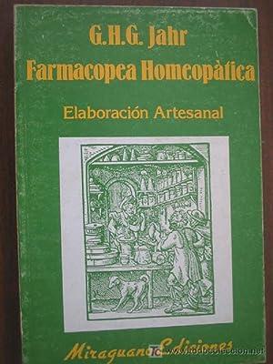 FARMACOPEA HOMEOPÁTICA: JAHR, G.H.G.