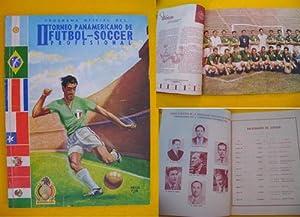 Programa Oficial del II TORNEO PANAMERICANO DE FUTBOL - SOCCER PROFESIONAL: MARTINEZ ARISTIZÁBAL (...