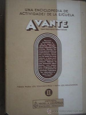 AVANTE II. TEMAS PRÁCTICOS DE TRABAJO ESCOLAR: Sin autor