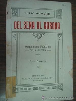 DEL SENA AL GARONA: ROMERO, Julio